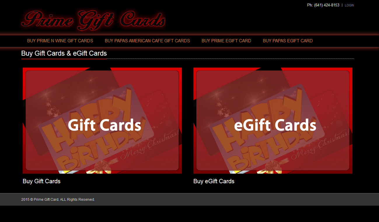 Prime Gift Cards